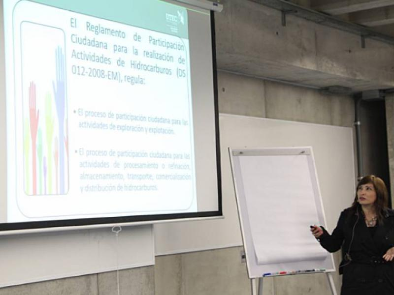 Programa Internacional en Gestión de Gas y Petróleo, Perú