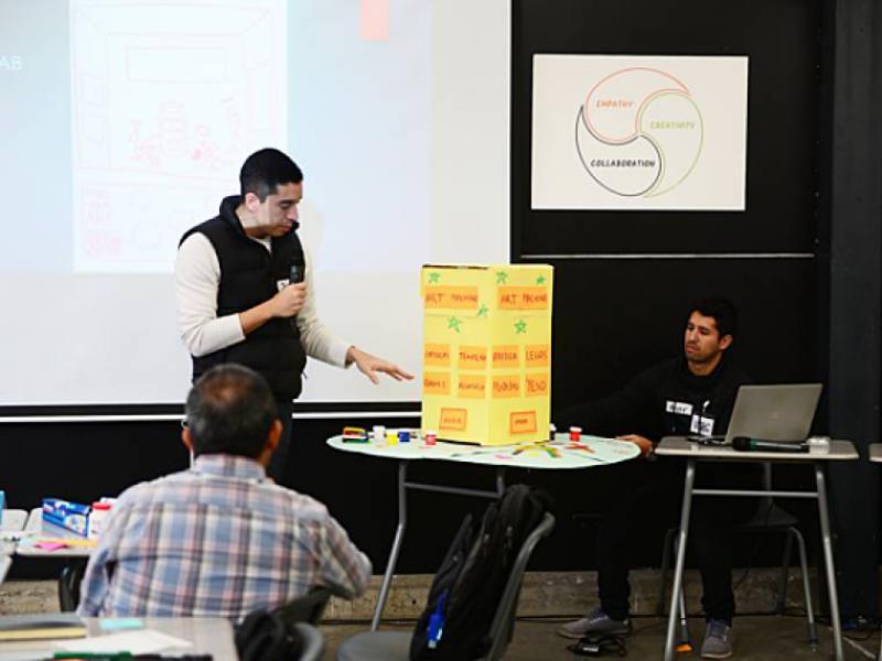"""Conocer el proceso del """"design thinking"""""""